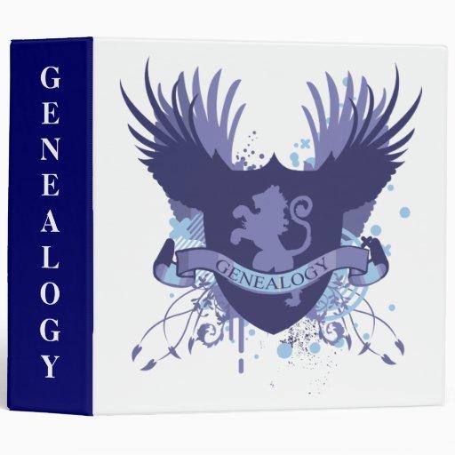 Genealogy Notebook Binders