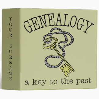 Genealogy Notebook/Binder 3 Ring Binder