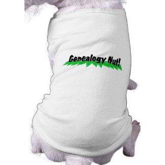 Genealogy Nut Doggie Tee
