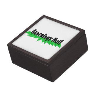 Genealogy Nut Gift Box
