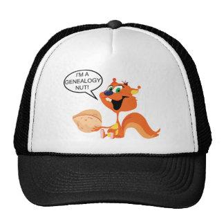Genealogy Nut Mesh Hats