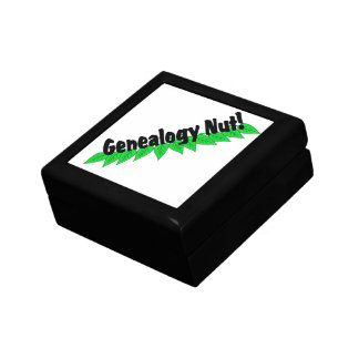 Genealogy Nut Jewelry Box