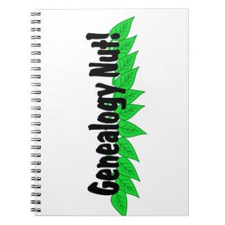 Genealogy Nut Notebook