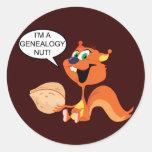 Genealogy Nut Stickers