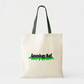 Genealogy Nut Tote Bag