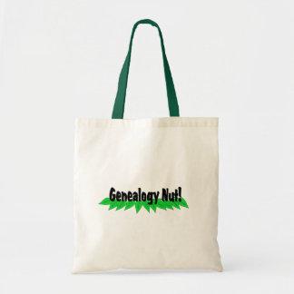 Genealogy Nut Tote Bag
