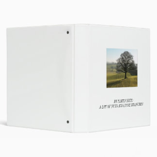 Genealogy :  Nuts and Loose Branches Binder