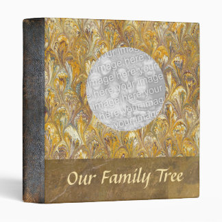 Genealogy Our Family Tree Leather Look Photo Book 3 Ring Binders