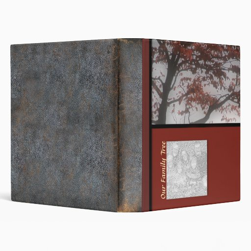 Genealogy Our Family Tree Personalized Photo Book Vinyl Binder