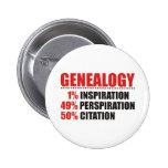 Genealogy Percentages 2 Inch Round Button