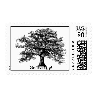 Genealogy postage stamp