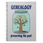 Genealogy Preserving The Past Spiral Notebook