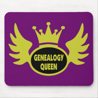 Genealogy Queen 2 Mouse Pads