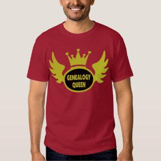 Genealogy Queen 2 T-shirts