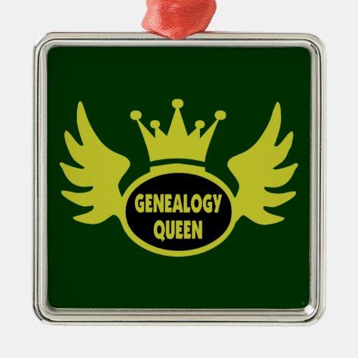 Genealogy Queen Ornament Ornaments