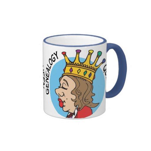Genealogy Queen Ringer Mug