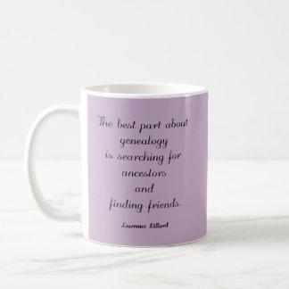 Genealogy Quote Custom Mug