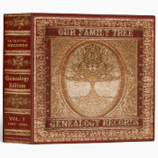 Genealogy Records Book Binder (<em>$24.15</em>)
