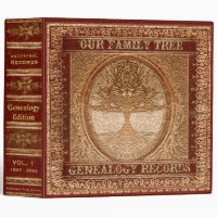 Genealogy Records Book Binder
