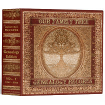 Genealogy Records Book Binder