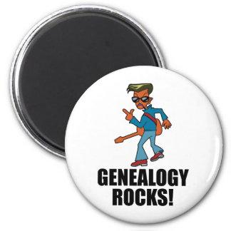 Genealogy Rocks Magnet