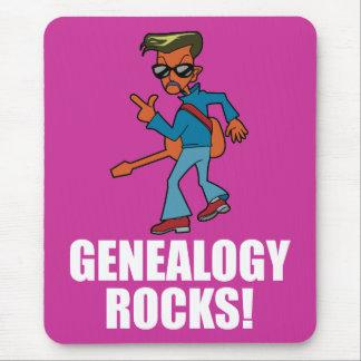 Genealogy Rocks Mouse Pad