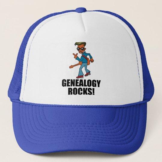 Genealogy Rocks Trucker Hat