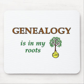 Genealogy Roots Mouse Pad