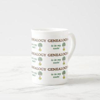 Genealogy Roots Tea Cup