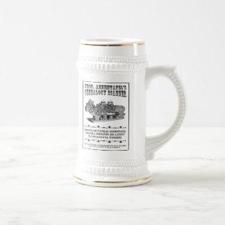 Genealogy Scanner Beer Stein
