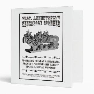 Genealogy Scanner Binder