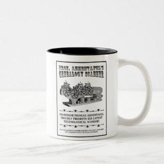 Genealogy Scanner Two-Tone Coffee Mug