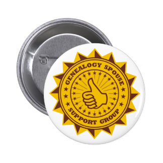 Genealogy Spouse Support Group 2 Inch Round Button