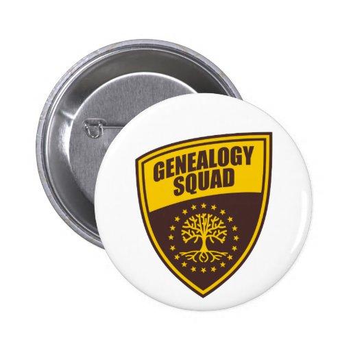 Genealogy Squad 2 Inch Round Button