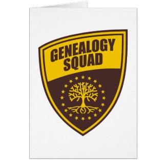 Genealogy Squad Card