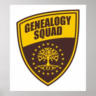 Genealogy Squad Poster