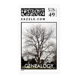 GENEALOGY STAMP