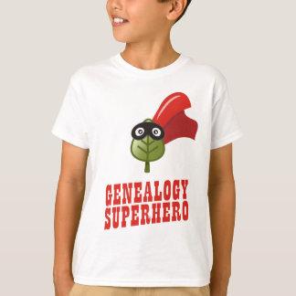 Genealogy Superhero T-Shirt