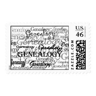Genealogy Text Postage