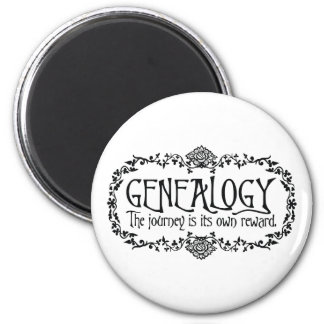 Genealogy. The Journey Is Its Own Reward. Magnet