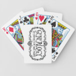 Genealogy. The Journey Is Its Own Reward. Playing Cards