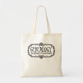 Genealogy. The Journey Is Its Own Reward. Tote Bag
