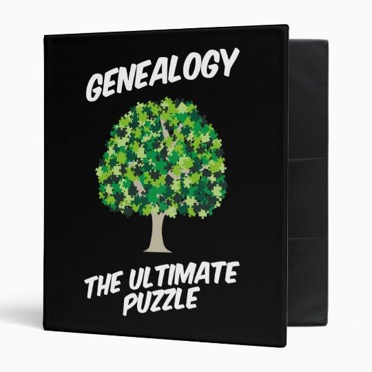 Genealogy - The Ultimate Puzzle Binder