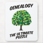 Genealogy - The Ultimate Puzzle Mouse Pad