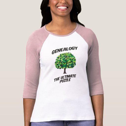 Genealogy - The Ultimate Puzzle Tee Shirts