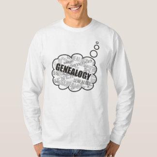 Genealogy Thoughts Shirt