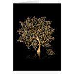 Genealogy Tree Greeting Card