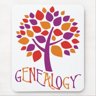 Genealogy Tree Mouse Pad