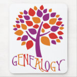Genealogy Tree Mousepad