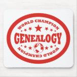 Genealogy World Champion Mouse Pad